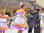 Representación del folclor colombiano por regiones