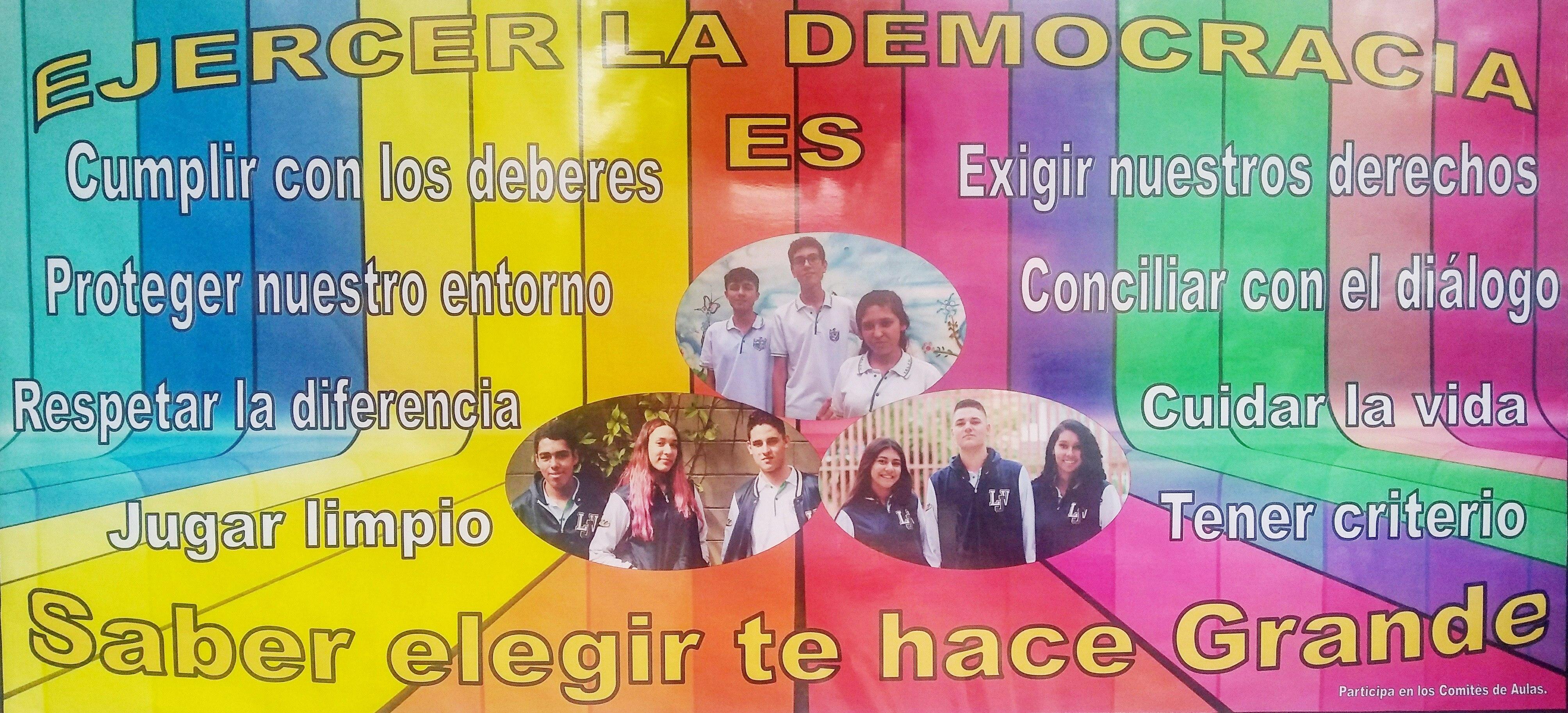 JORNADA DEMOCRACIA ESCOLAR