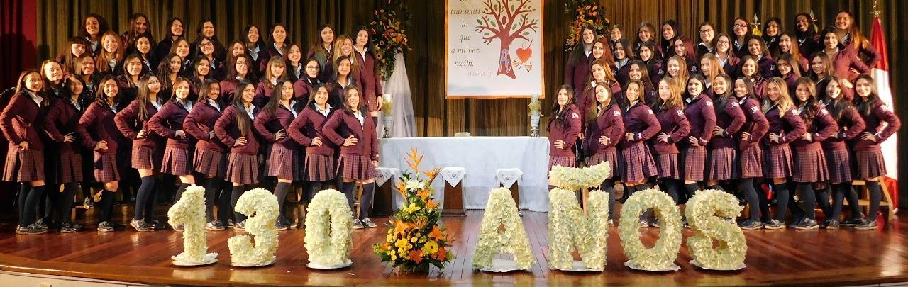 130 años Educando en el Amor para el Servicio