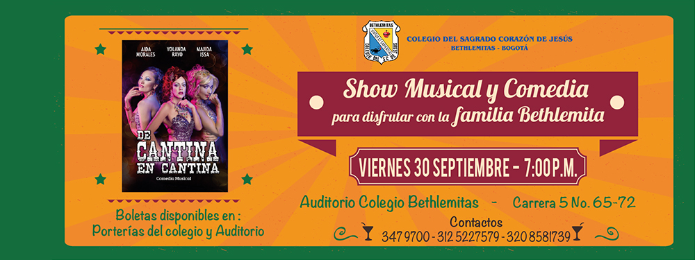 .Show Musical y Comedia